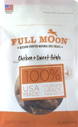 Full Moon Chicken And Sweet Potato Dog Treats