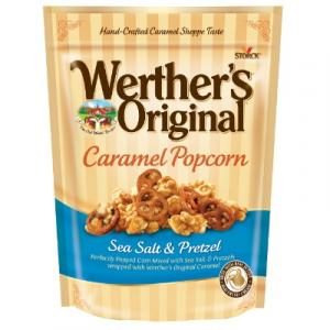 Werther's Sea Salt & Pretzel Caramel Popcorn