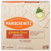 Manischewitz Gluten Free Matzo Style Crackers