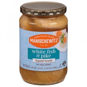 Manischewitz Pike and White Fish