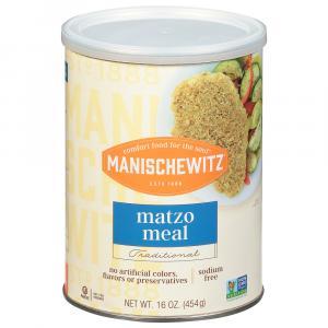 Manischewitz Matzo Meal Canister