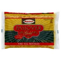 Manischewitz Passover Gold Fine Egg Noodles