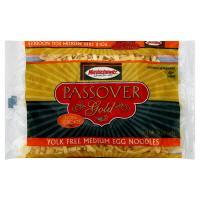 Manischewitz Passover Gold Egg Noodles