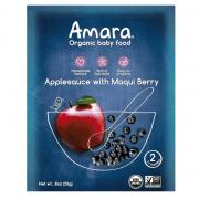 Amara Applesauce with Maqui Berry Organic Baby Food