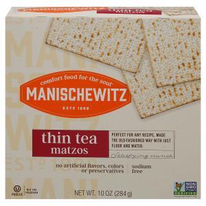 Manischewitz Thin Tea Matzos