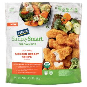 Perdue Organic Simply Smart Breaded Chicken Breast Strips