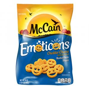 McCain Emoticons Cheddar Cheese Mashed Potato Shapes