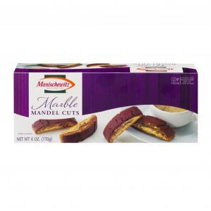 Manischewitz Marble Mandel Cuts Cookies