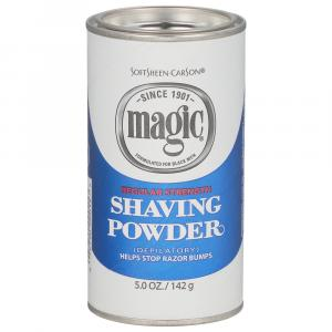 Magic Shave Blue Shaving Powder