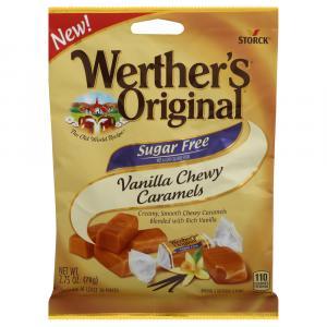 Werther's Original Sugar Free Vanilla Chewy Caramels