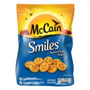McCain Smiles Mashed Potato Shapes