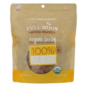 Full Moon Organic Chicken Jerky Natural Dog Treats