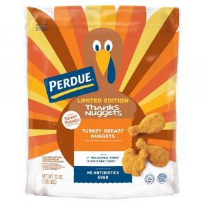 Perdue Sweet Potato Breaded Thanks Turkey Nuggets