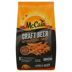 Mccain Craft Beer Thin Cut Fries