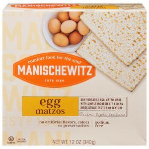 Manischewitz Egg Matzos