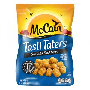 Mccain Sea Salt & Black Pepper Tasti Taters