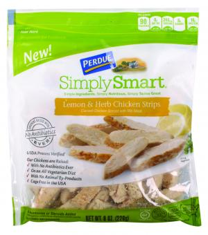 Perdue Simply Smart Lemon and Herb Chicken Strips