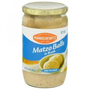 Manischewitz Matzo Balls in Broth
