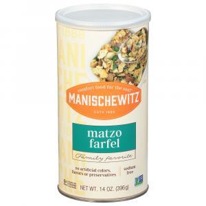 Manischewitz Farfel Canister