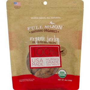 Full Moon Organic Beef Jerky Natural Dog Treats