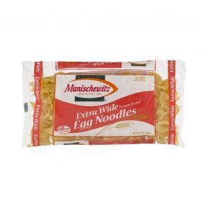 Manischewitz Extra Wide Egg Noodles