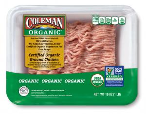 Coleman Organic Ground Chicken