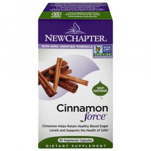 New Chapter Cinnamon Force Dietary Supplement