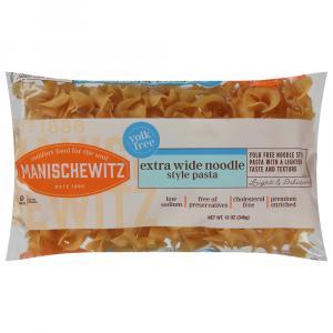 Manischewitz Yolk Free Extra Wide Noodles