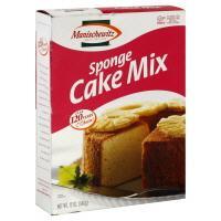 Manischewitz Sponge Cake Mix