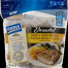 Perdue Encrusted Onion & Herb Chicken Breast Fillets