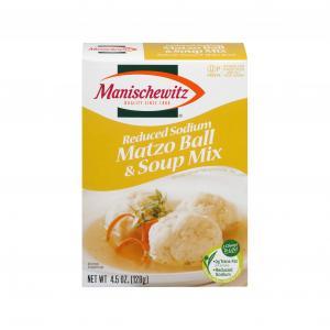 Manischewitz Reduced Sodium Matzo Ball Soup Mix