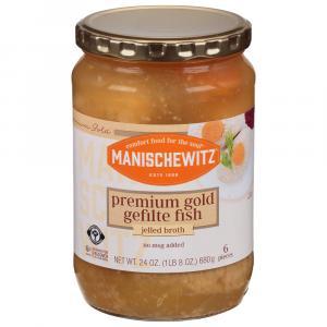 Manischewitz Premium Gold Gefilte Fish