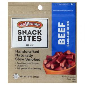 Old Wisconsin Beef Snack Bites