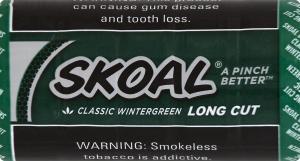 Skoal Long Cut Wintergreen Chewing Tobacco
