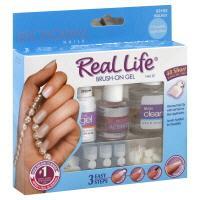 Broadway Nails Real Life Brush-on Nail Kit