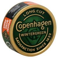 Copenhagen Long Cut Wintergreen Chewing Tobacco