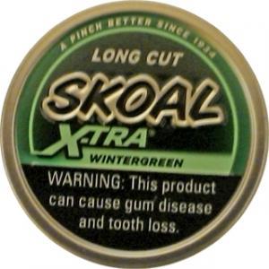 Skoal X-tra Long Cut Wintergreen Blend Chewing Tobacco