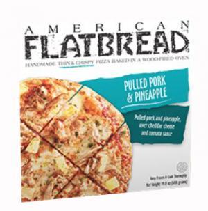 American Flatbread Pork & Pineapple Pizza