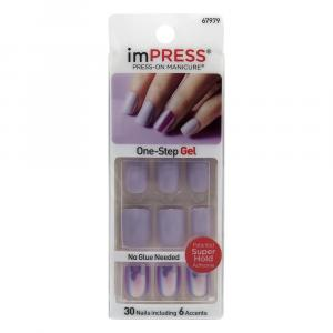 Kiss Impress Press-On Manicure One-step Gel So Unexpected