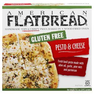 American Flatbread Gluten Free Pesto & Cheese Pizza