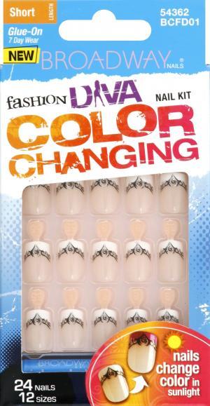Kiss Nails Broadway Clear Change Kit Sunshine