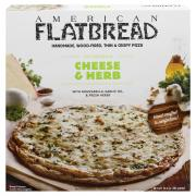 American Flatbread Cheese & Herb Pizza