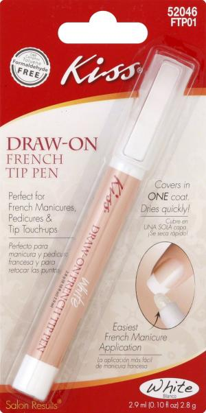 Kiss Draw-On French Tip Pen
