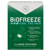 Biofreeze Patches Large