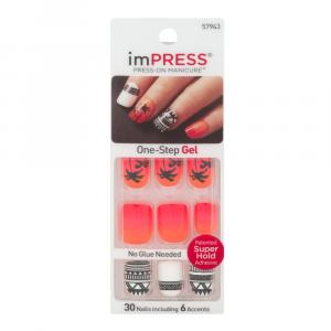 KISS Impress One-Step Gel Night Fever Manicure