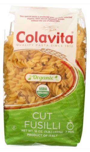 Colavita Organic Cut Fusilli