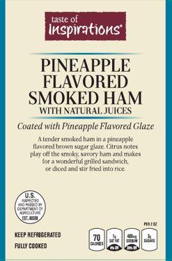 Pineapple Flavored Smoked Ham