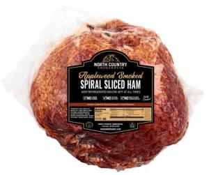 North Country Applewood Smoked Spiral Sliced Whole Ham