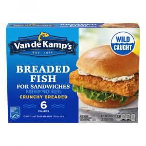 Van de Kamp's Breaded Fish for Sandwiches Original Recipe