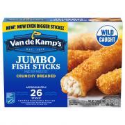Van de Kamp's Extra Large Jumbo Crispy Fish Sticks